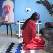 Osho meditation Camp in osho moulshree
